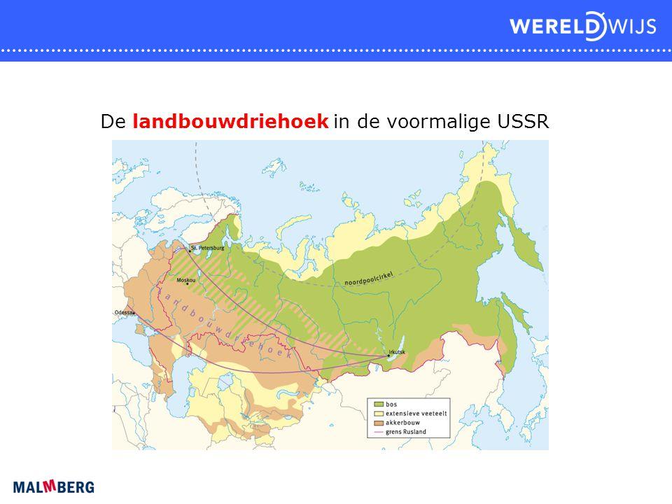De landbouwdriehoek in de voormalige USSR