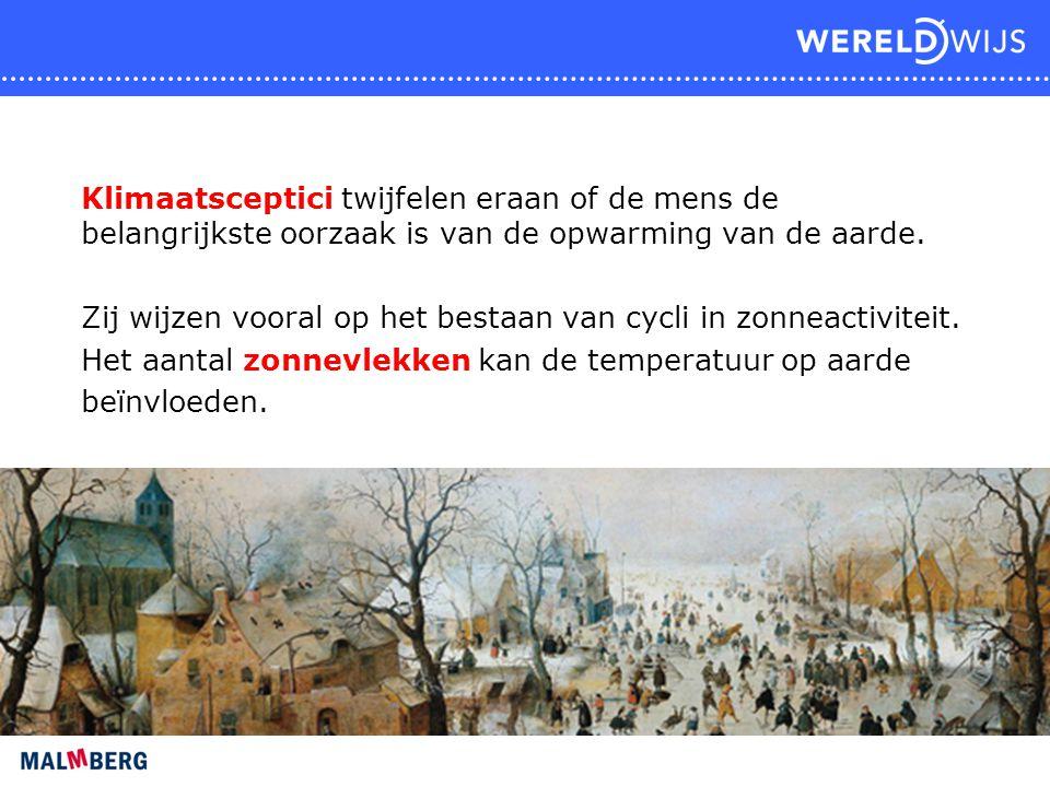 Klimaatsceptici twijfelen eraan of de mens de belangrijkste oorzaak is van de opwarming van de aarde. Zij wijzen vooral op het bestaan van cycli in zo