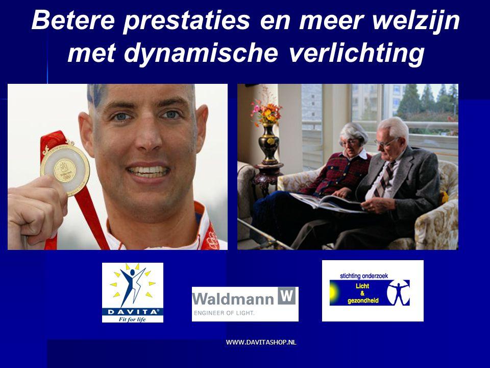 WWW.DAVITASHOP.NL Toine Schoutens Betere prestaties en meer welzijn met dynamische verlichting