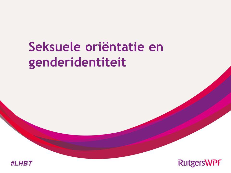 Seksuele oriëntatie en genderidentiteit #LHBT