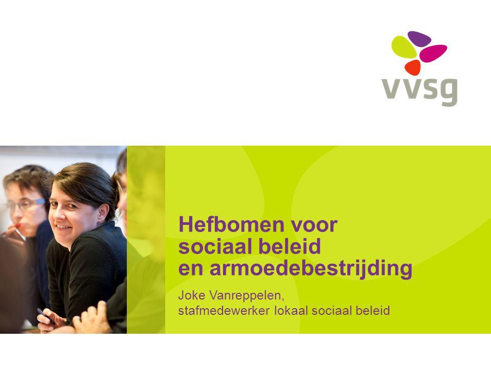 VVSG - Hefbomen voor een effectief sociaal beleid en armoedebestrijding – 100 dagen2 -19-7-2014