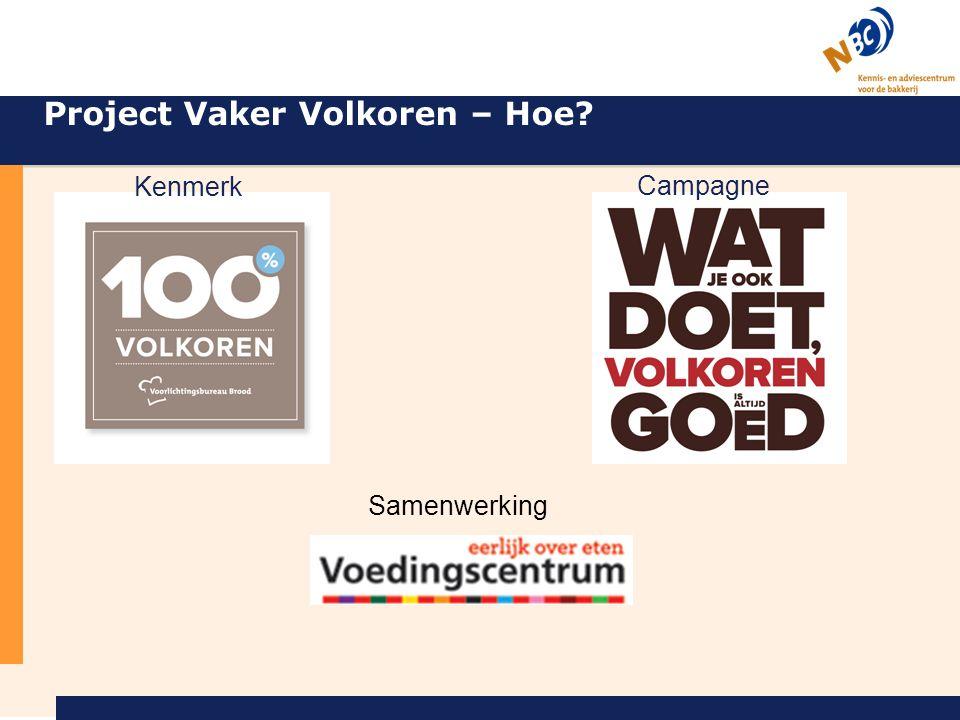 Kenmerk Campagne Project Vaker Volkoren – Hoe? Samenwerking