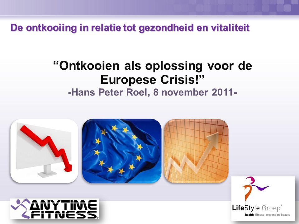 """De ontkooiing in relatie tot gezondheid en vitaliteit De ontkooiing in relatie tot gezondheid en vitaliteit """"Ontkooien als oplossing voor de Europese"""
