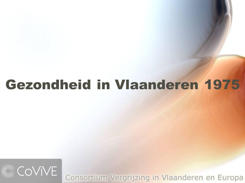 Gezondheid in Vlaanderen 1975