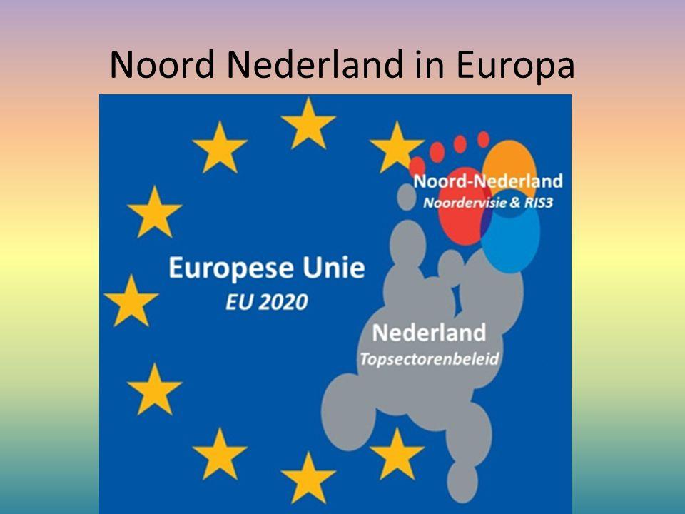 Noord Nederland in Europa