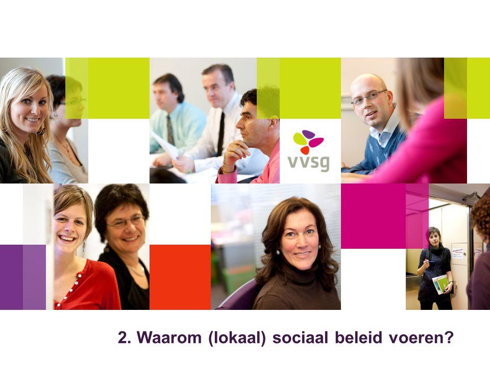 VVSG - Ontmoeting mogelijk maken Elkaar ontmoeten, zorgen delen, problemen bespreken, hulp krijgen.