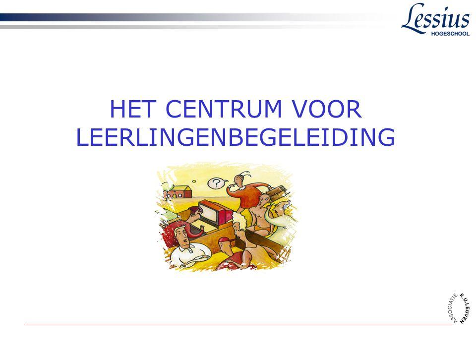 HET CENTRUM VOOR LEERLINGENBEGELEIDING
