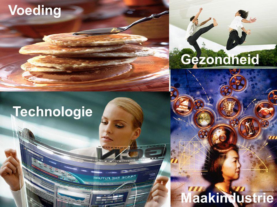 Technologie Gezondheid Voeding Maakindustrie