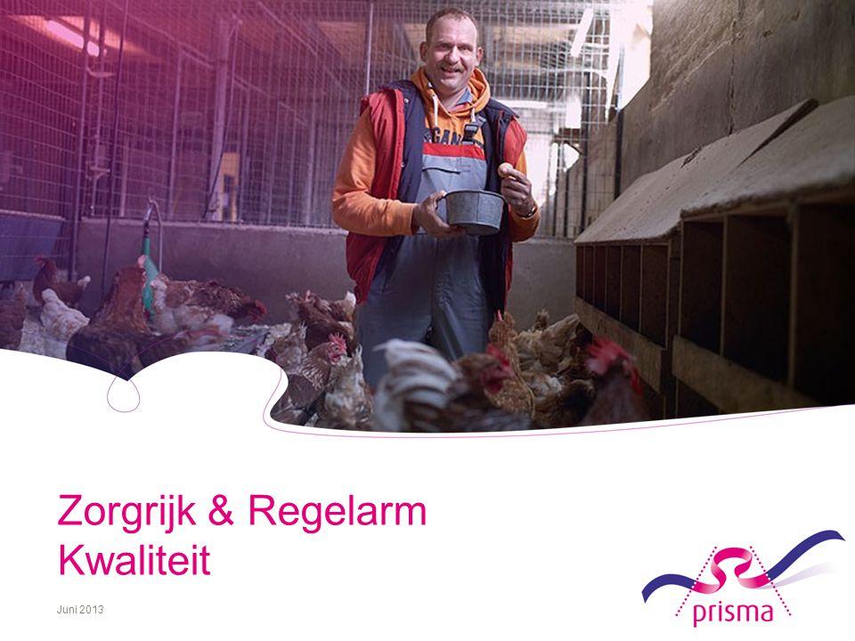 1 Zorgrijk & Regelarm Kwaliteit Juni 2013