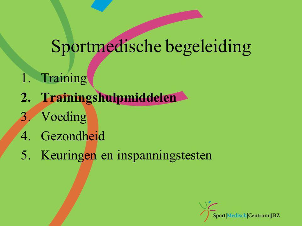 2. Trainingshulpmiddelen 1. Gevoel 2.Snelheidsmeter 3.Hartslagmeter 4.Vermogensmeter 5.Logboek!!!!
