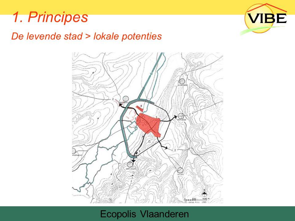 Ecopolis Vlaanderen 1. Principes De levende stad > lokale potenties