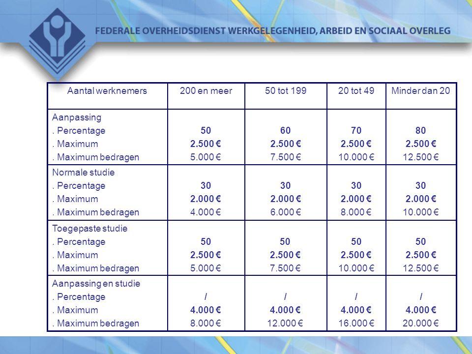 / 4.000 € 20.000 € / 4.000 € 16.000 € / 4.000 € 12.000 € / 4.000 € 8.000 € Aanpassing en studie.
