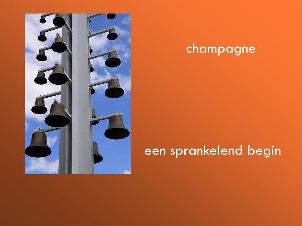 een sprankelend begin champagne