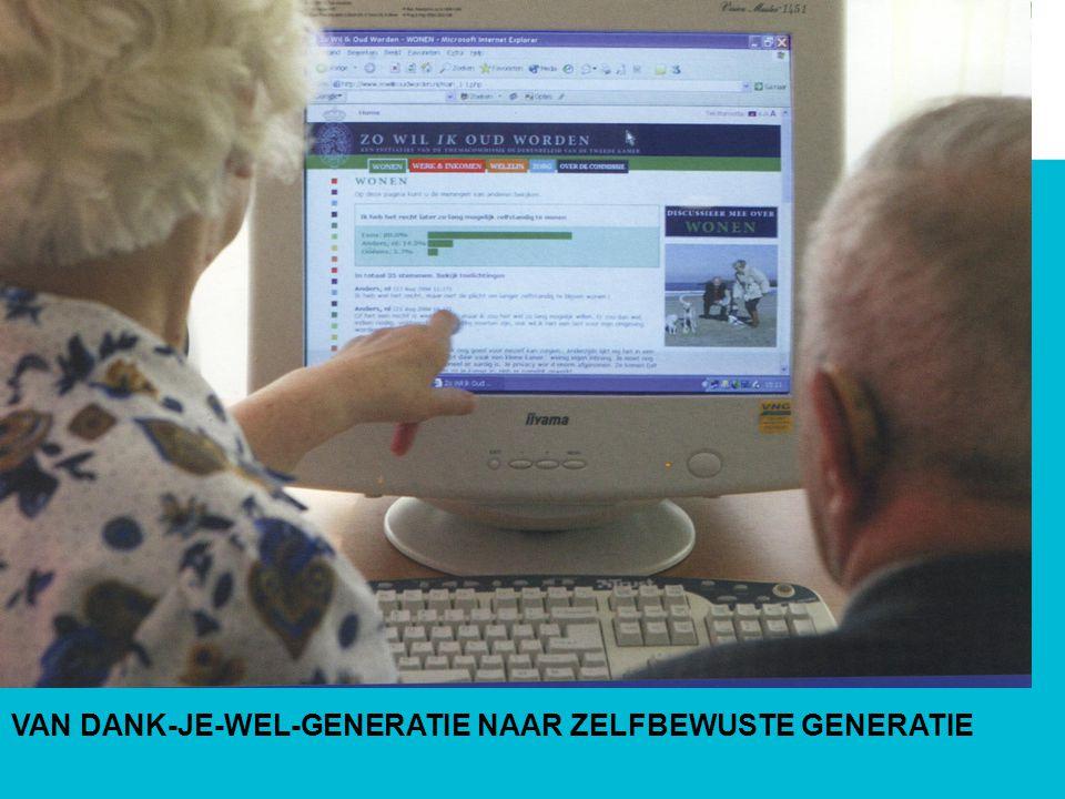 VAN DANK-JE-WEL-GENERATIE NAAR ZELFBEWUSTE GENERATIE