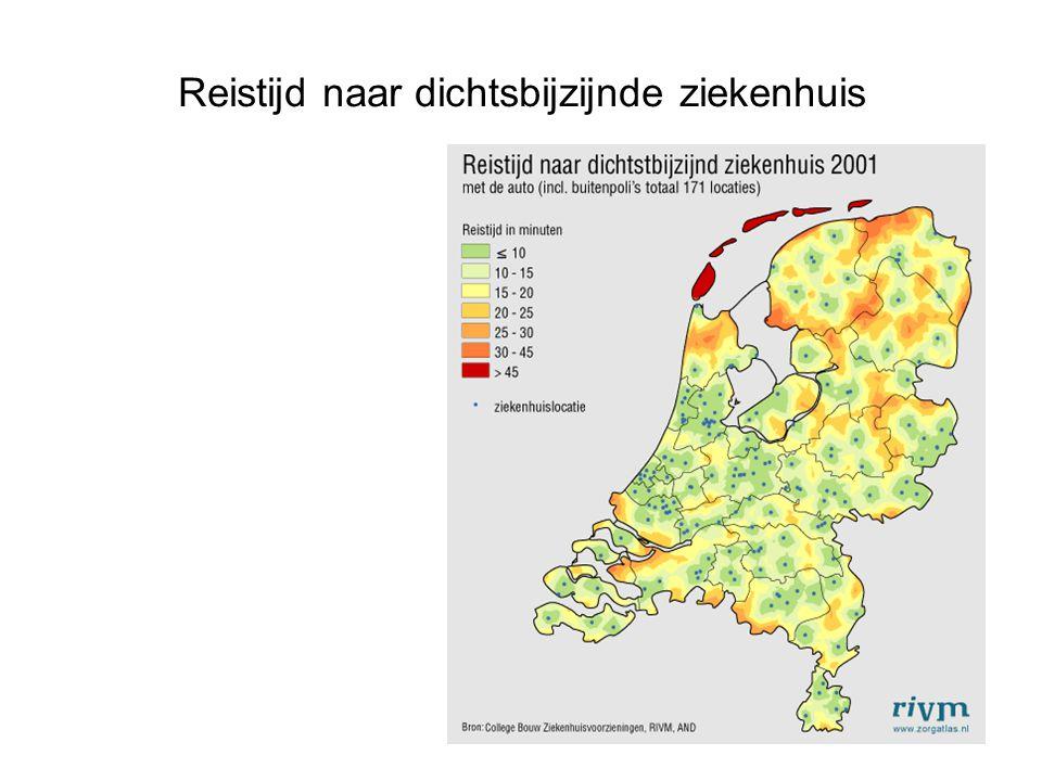 Verschillen in gezondheid in een regio door: Sociaal-economische factoren Demografische factoren Woon -en leefomgeving