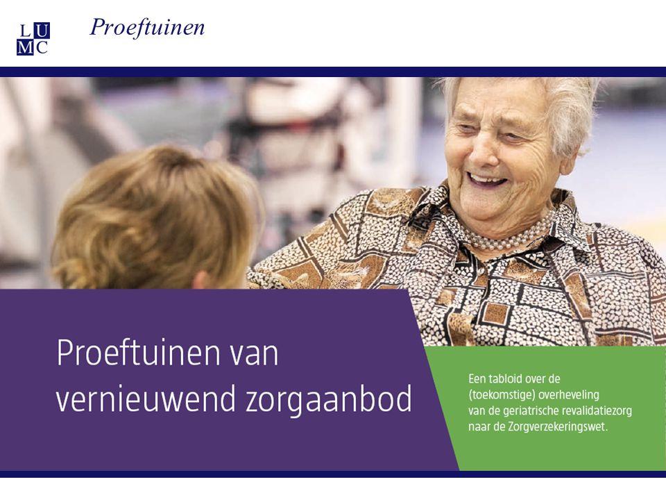 21-11-1133 Toekomst: brief VWS 2013 Onder regie zorgverzekeraars Vrij contracteren Geen CIZ, wel: triage instrument.