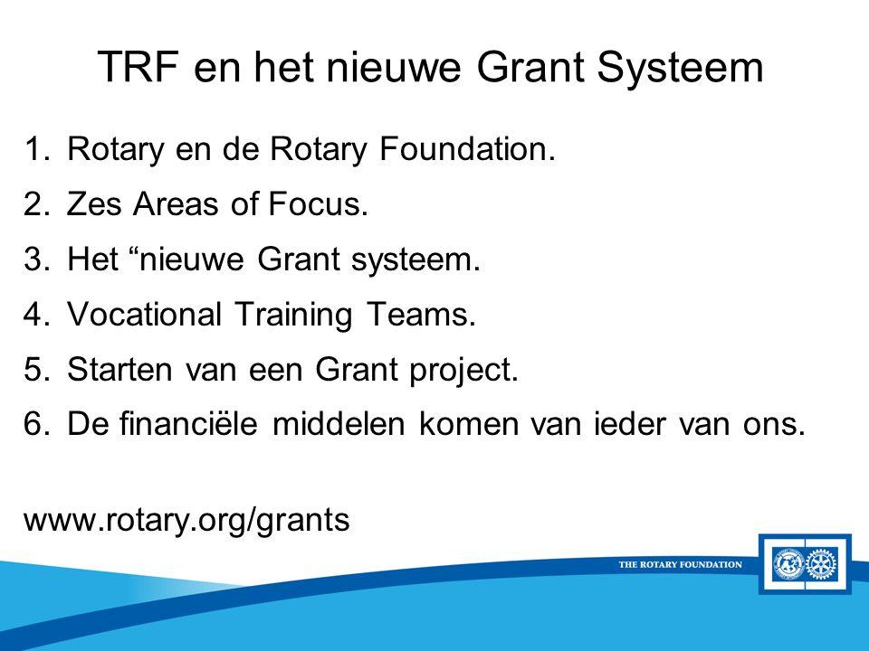 District Rotary Foundation Seminar District Grants D1560 criteria - Het project is kleinschalig < €10.000,- - Goed te realiseren - Liefst lokaal project (binnen het district)