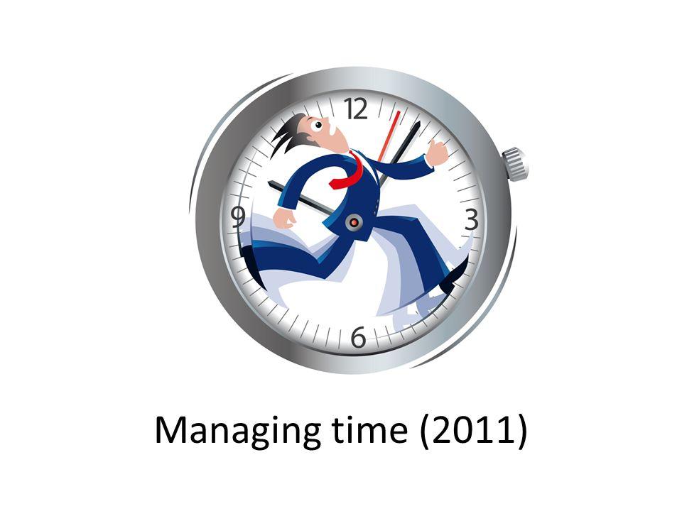 Managing time (2011)