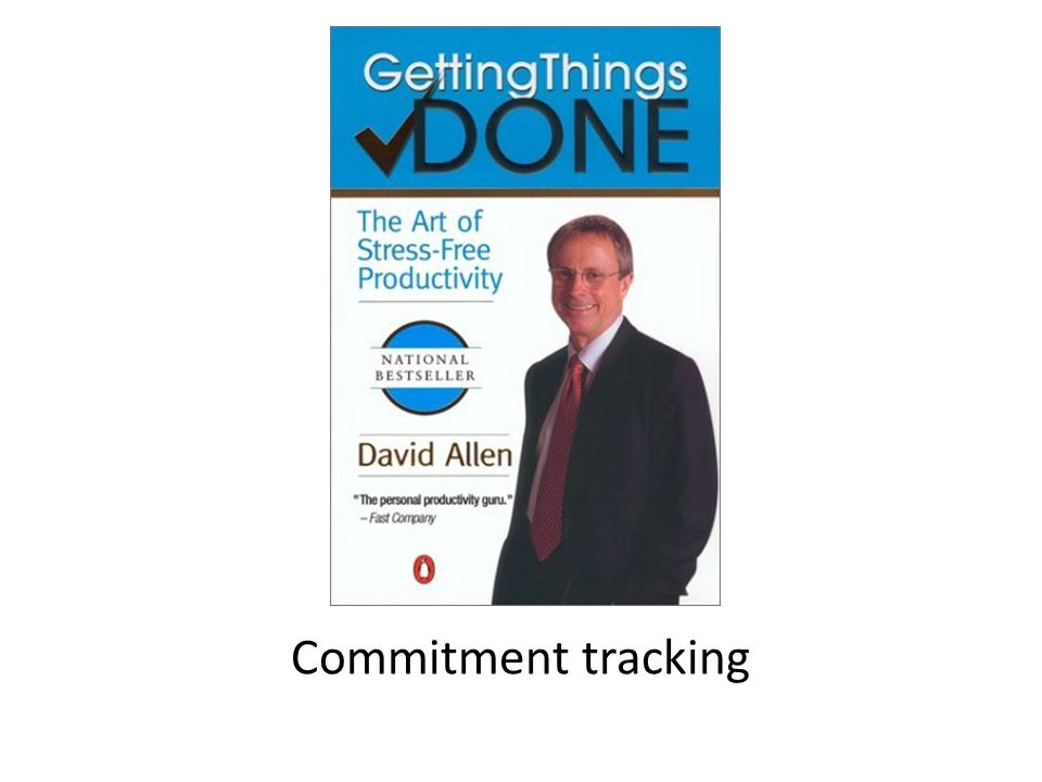 Commitment tracking