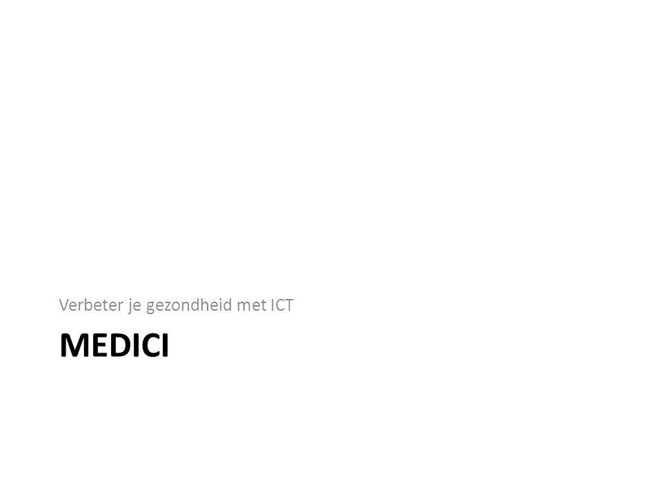 MEDICI Verbeter je gezondheid met ICT