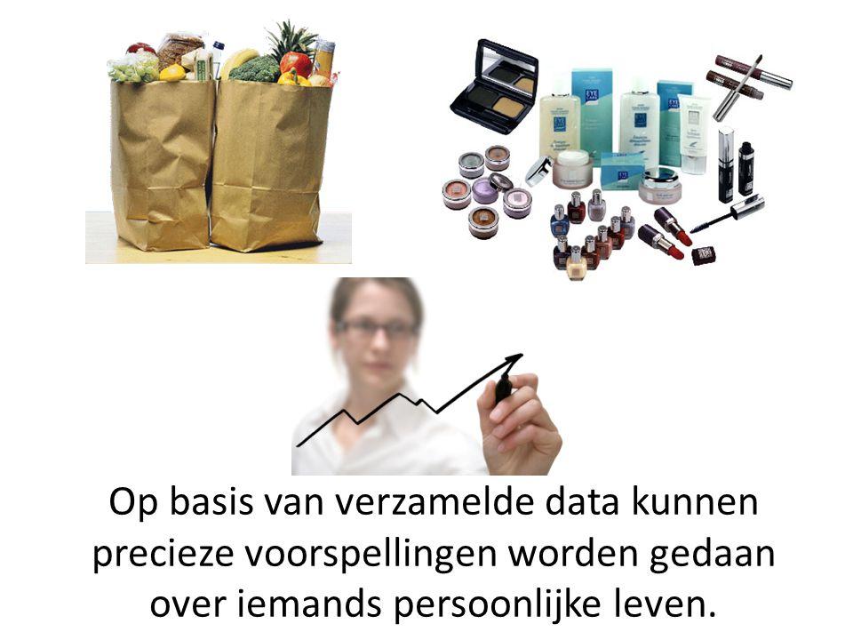 Op basis van verzamelde data kunnen precieze voorspellingen worden gedaan over iemands persoonlijke leven.