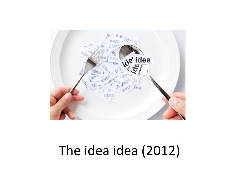 The idea idea (2012)