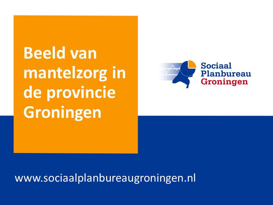Beeld van mantelzorg in de provincie Groningen www.sociaalplanbureaugroningen.nl