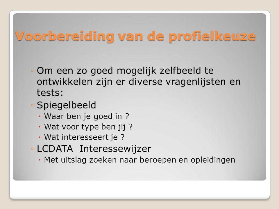 Handige links Studiekeuze123.nl Doorstroomrechten naar HBO