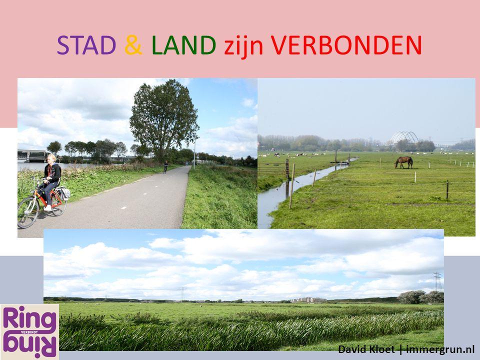 STAD & LAND zijn VERBONDEN David Kloet | immergrun.nl