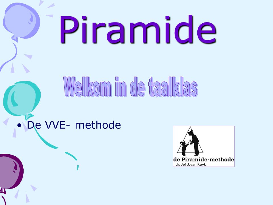 Piramide De VVE- methode