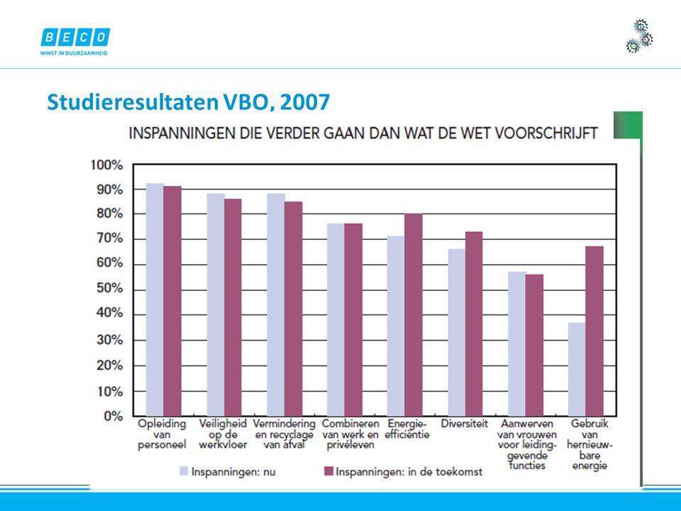 Studieresultaten VBO, 2007