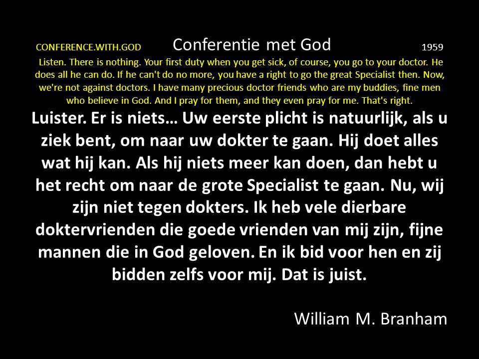 CONFERENCE.WITH.GOD Conferentie met God 1959 Listen.