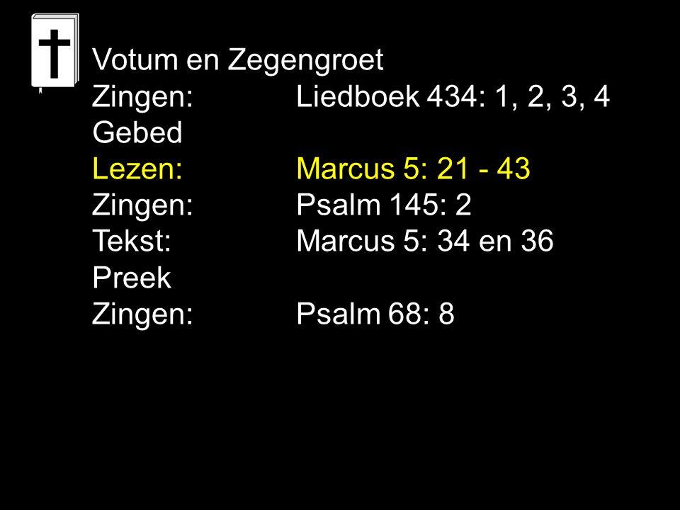 Liedboek 21: 1, 4, 7 Roemt dan, gij mensen, en lofzingt tezamen Hem die zo grote dingen doet.