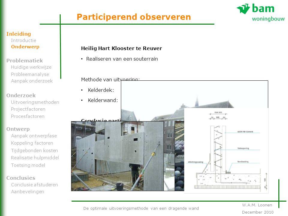 Heilig Hart Klooster te Reuver Realiseren van een souterrain Methode van uitvoering: Kelderdek:Bubbledeckvloer Kelderwand:Holle wandsysteem Conclusie