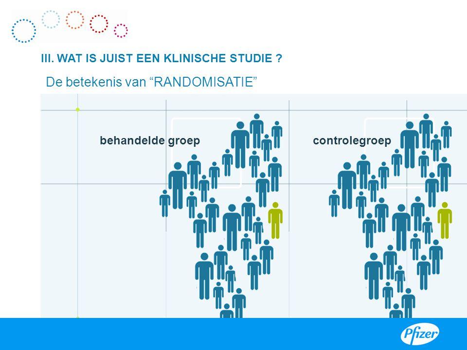 enkelblind III. WAT IS JUIST EEN KLINISCHE STUDIE ? De betekenis van « BLINDERING » open dubbelblind III