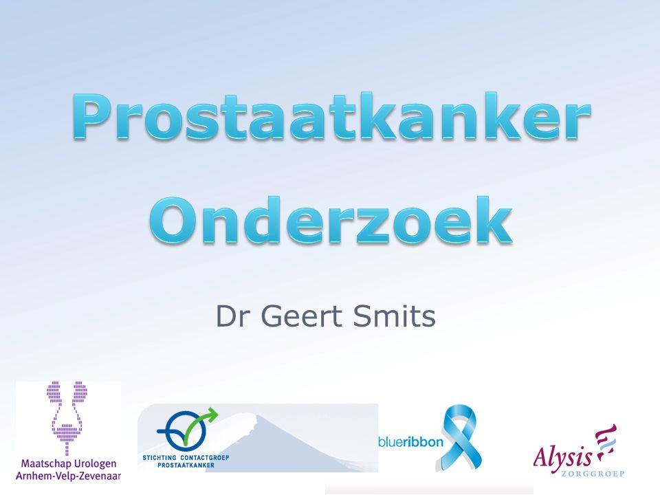 Urine test Eerst voelen aan prostaat Dan plassen Geeft kans op prostaatkanker weer Weer biopten?