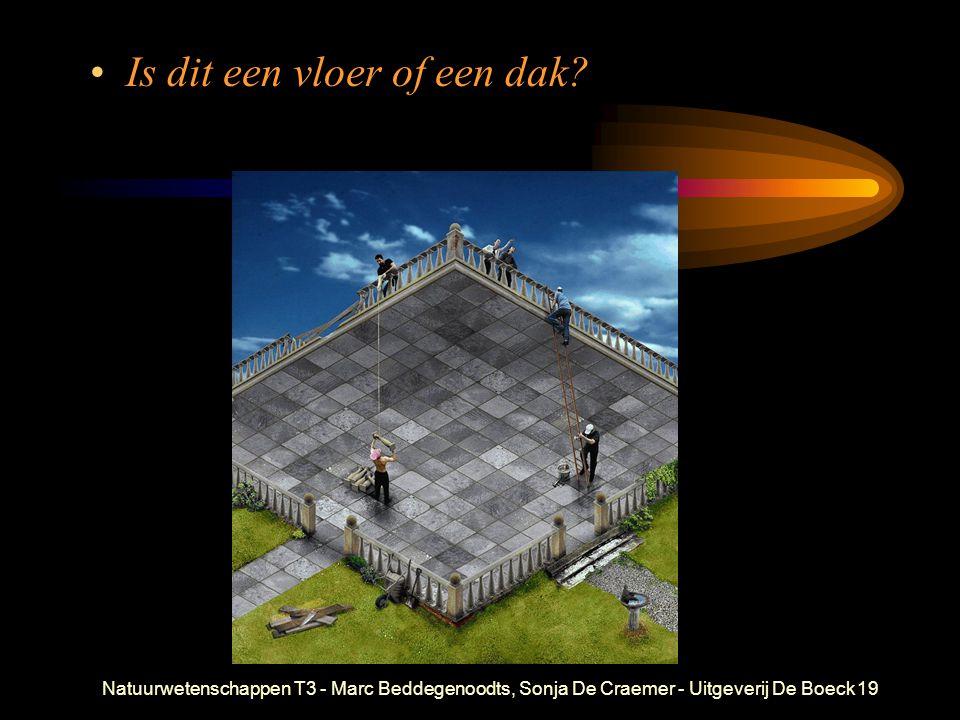 Natuurwetenschappen T3 - Marc Beddegenoodts, Sonja De Craemer - Uitgeverij De Boeck19 Is dit een vloer of een dak?