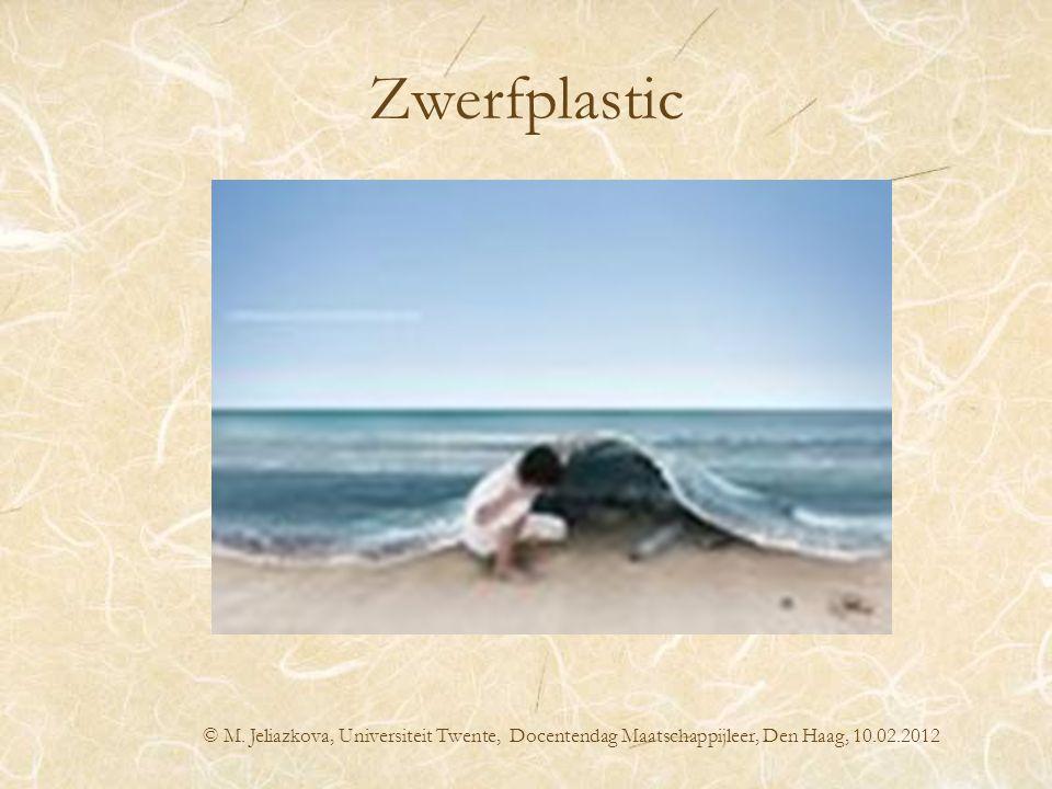 Zwerfplastic plastic whale promo © M. Jeliazkova, Universiteit Twente, Docentendag Maatschappijleer, Den Haag, 10.02.2012