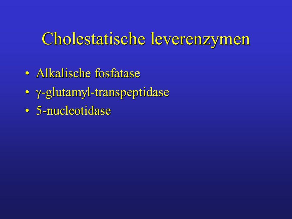 Alkalische fosfatase (AF) versnelt omzetting van organische monofosforzure esters in anorganisch fosfaat en een organische verbindingversnelt omzetting van organische monofosforzure esters in anorganisch fosfaat en een organische verbinding komt voor in lever, bot, darm, nier, placenta, leucocyten, neoplasmakomt voor in lever, bot, darm, nier, placenta, leucocyten, neoplasma stijgt bij metabole stimulatie (groei, zwangerschapstijgt bij metabole stimulatie (groei, zwangerschap in lever in microvilli van galcanaliculiin lever in microvilli van galcanaliculi