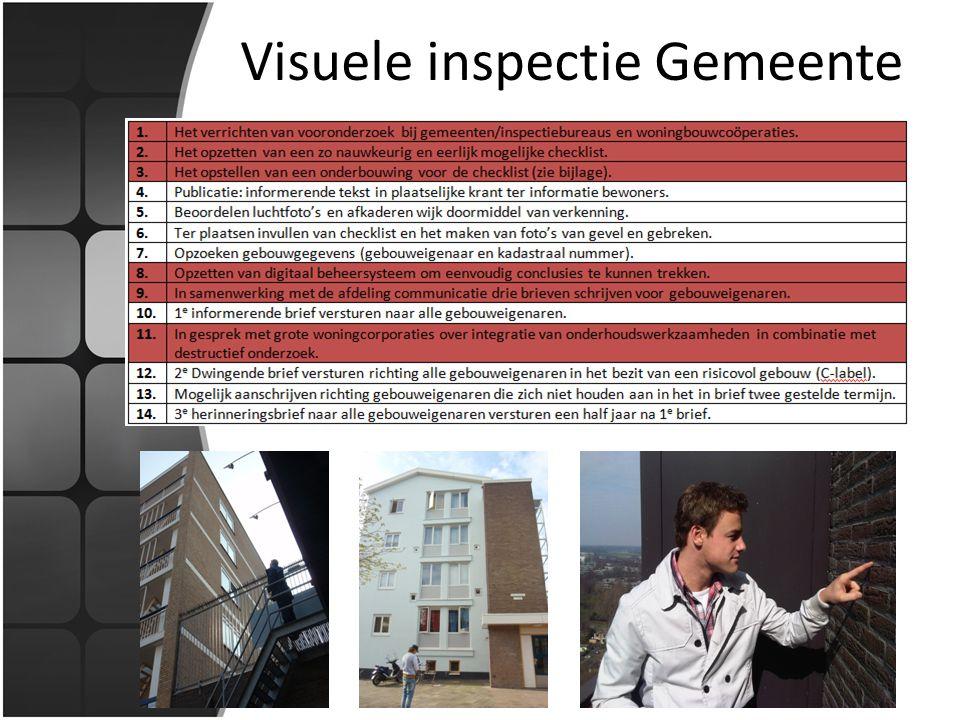 Visuele inspectie Gemeente