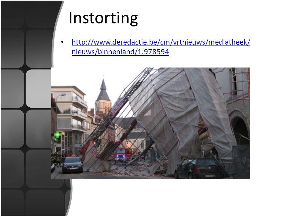 Instorting http://www.deredactie.be/cm/vrtnieuws/mediatheek/ nieuws/binnenland/1.978594 http://www.deredactie.be/cm/vrtnieuws/mediatheek/ nieuws/binne