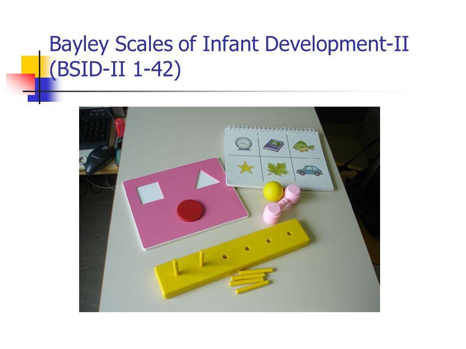 Bayley Scales of Infant Development-II (BSID-II 1-42)