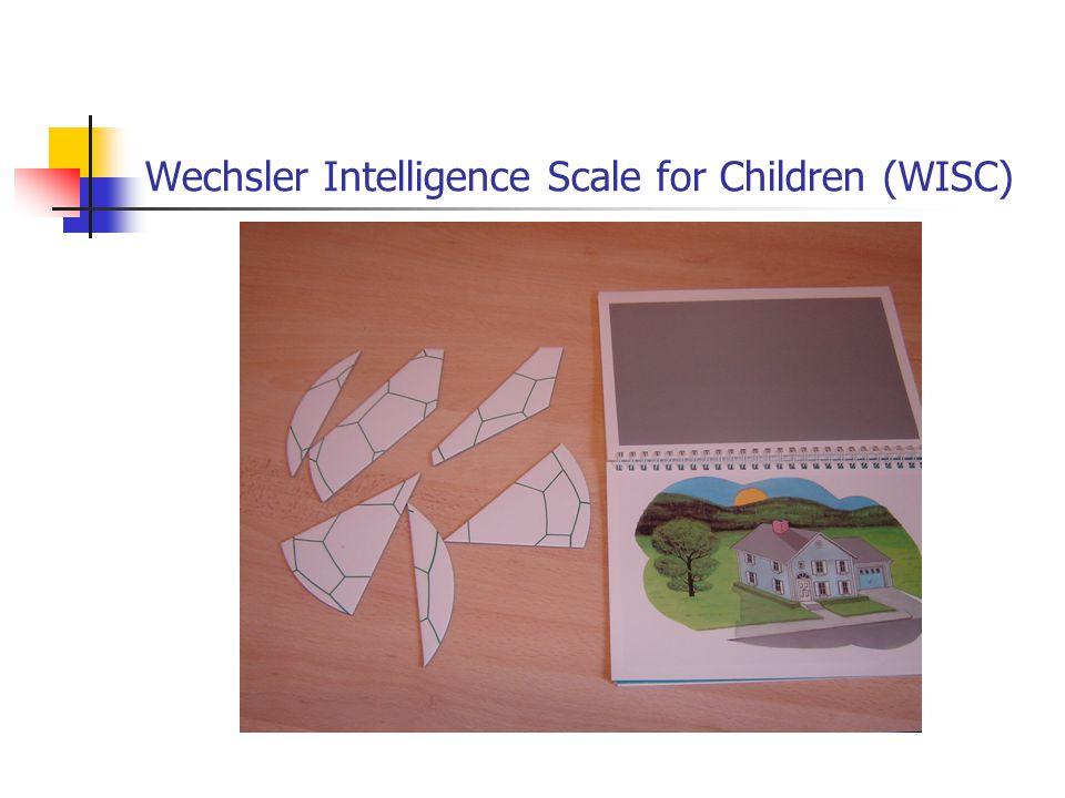 Wechsler Intelligence Scale for Children (WISC)