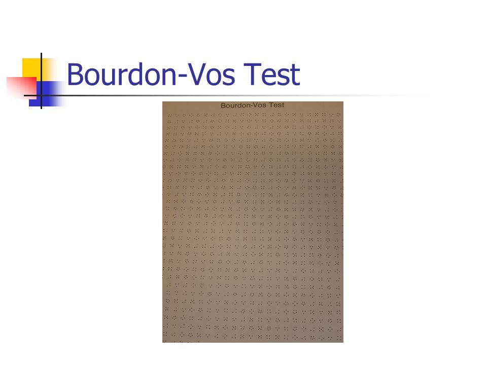 Bourdon-Vos Test