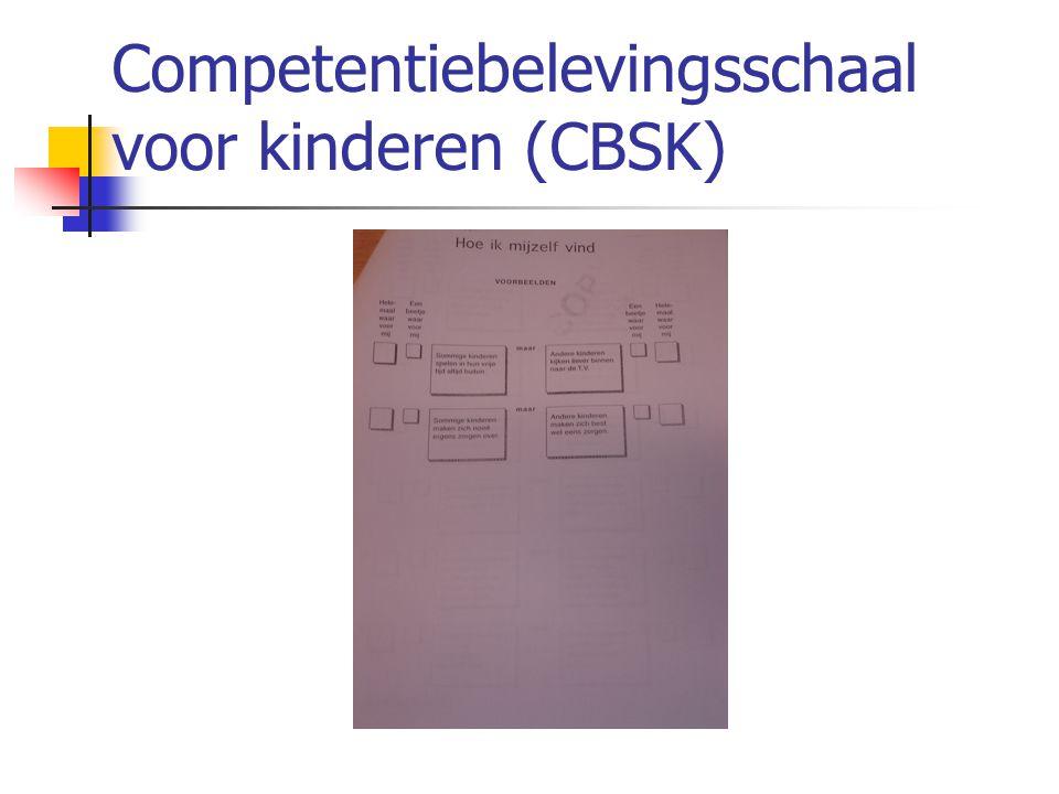 Competentiebelevingsschaal voor kinderen (CBSK)