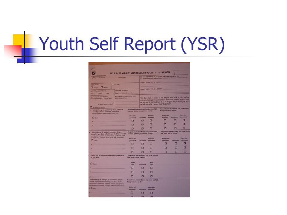 Youth Self Report (YSR)