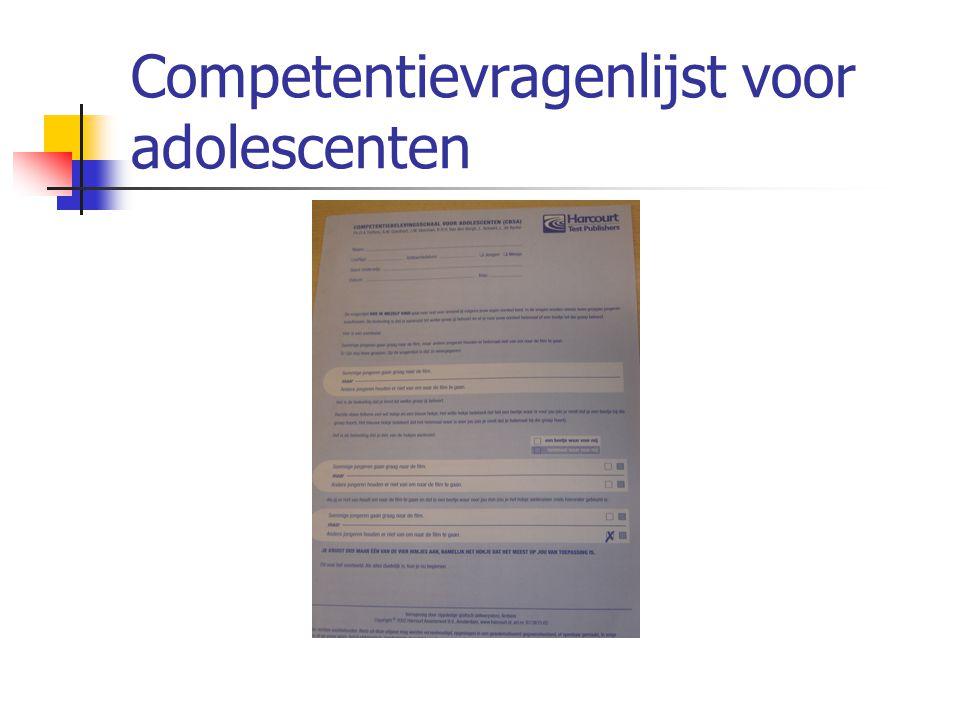 Competentievragenlijst voor adolescenten
