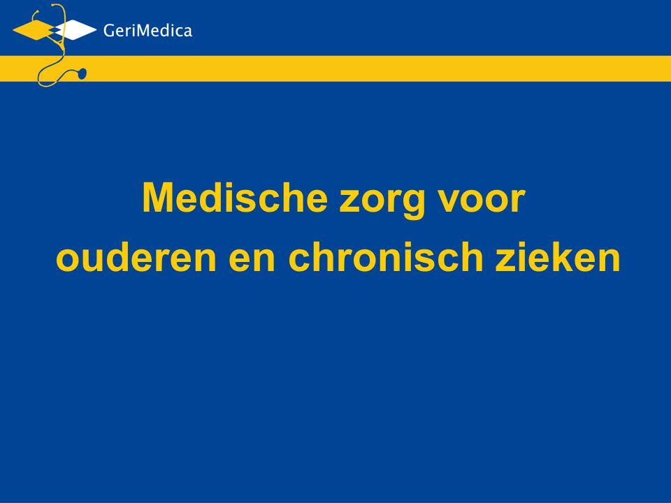 Medische zorg voor ouderen en chronisch zieken