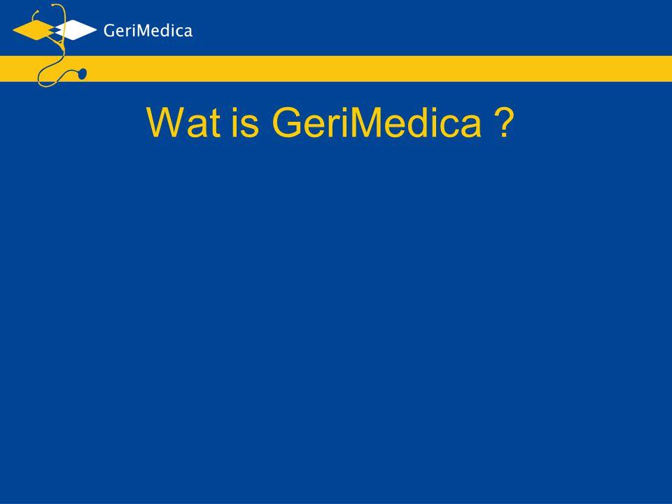 Wat is GeriMedica ?