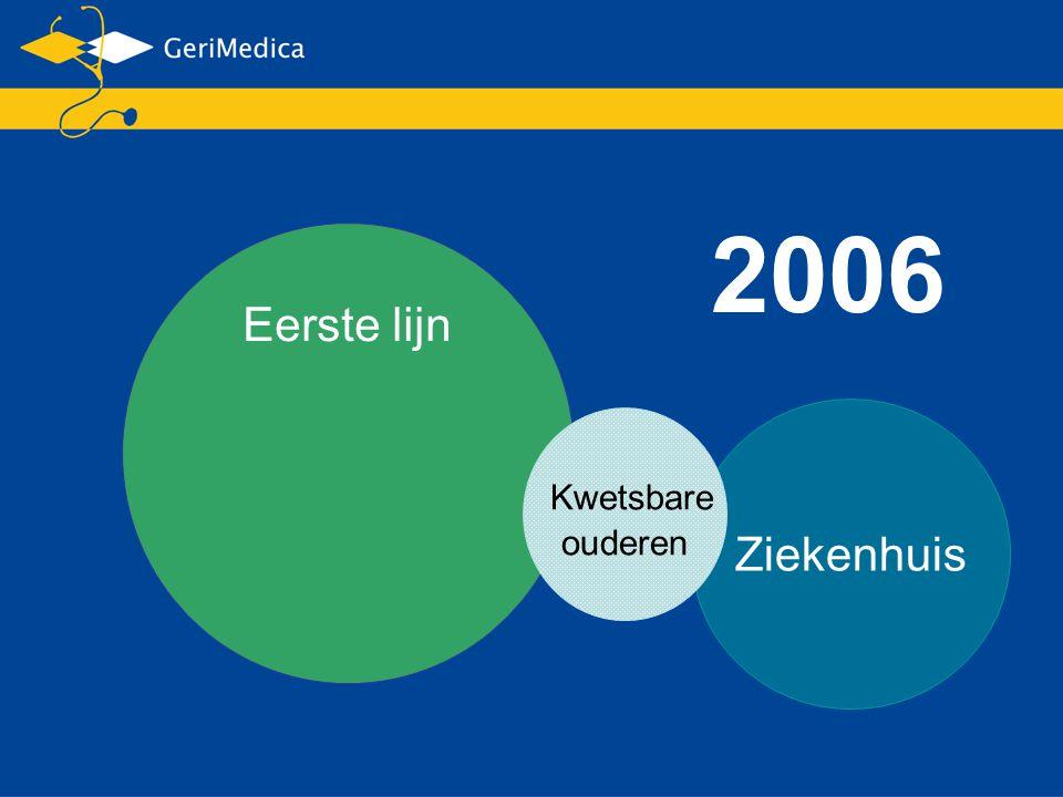 Eerste lijn Ziekenhuis Kwetsbare ouderen 2006
